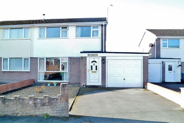 3 bed semi-detached house for sale in Erw Deg, Acrefair, Wrexham