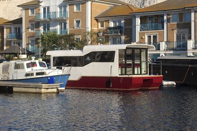 Thumbnail Houseboat for sale in The Boat House, Sandhills Meadow, Shepperton