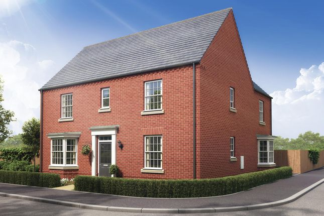 "Thumbnail Detached house for sale in ""Layton"" at Stockton Road, Long Itchington, Southam"