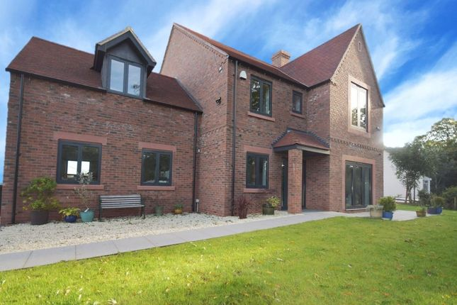 Thumbnail Detached house for sale in Mile Bank, Whitchurch, Shropshire