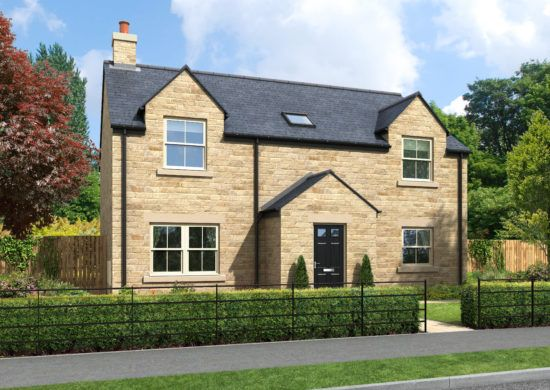 Thumbnail Detached house for sale in Holmefield, Embleton, Northumberland