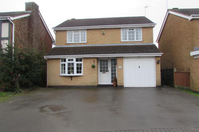 Thumbnail Detached house for sale in Wootton Close, Whetstone, Leicester