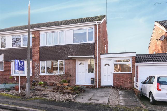 Thumbnail Semi-detached house for sale in Caynham Close, Redditch