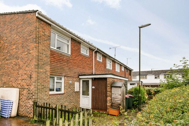 Thumbnail Terraced house for sale in Tussock Close, Bewbush, Crawley