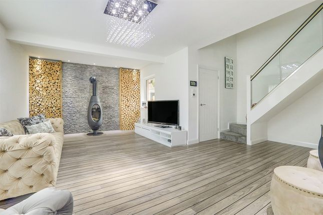 Thumbnail Detached house for sale in Langsmead, Blindley Heath, Lingfield