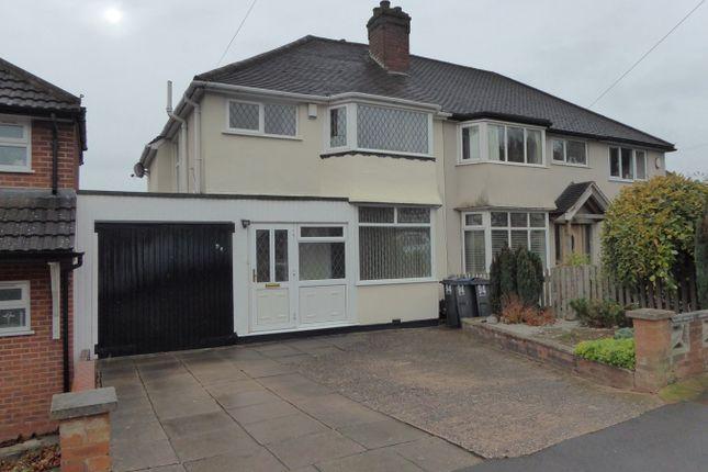 Thumbnail Semi-detached house for sale in Green Park Road, Birmingham