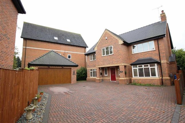 Thumbnail Detached house for sale in Old Hall Avenue, Littleover, Derby