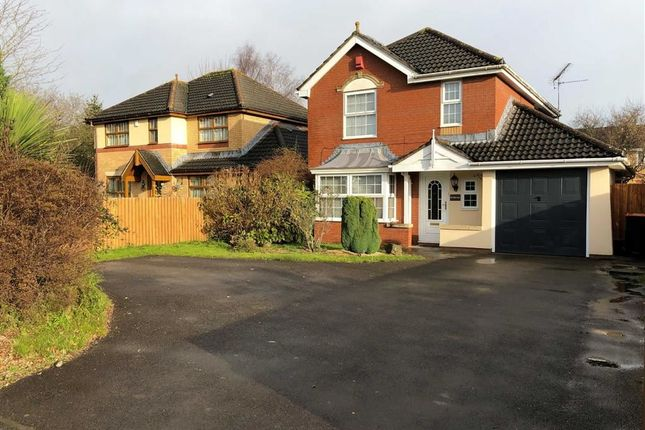 Thumbnail Detached house to rent in Catsash Road, Langstone, Newport