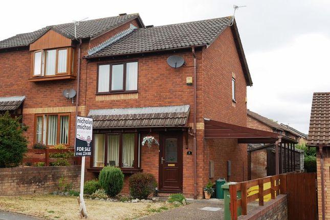 Thumbnail Semi-detached house for sale in Heol Yr Onnen, Trecastel, Llanharry