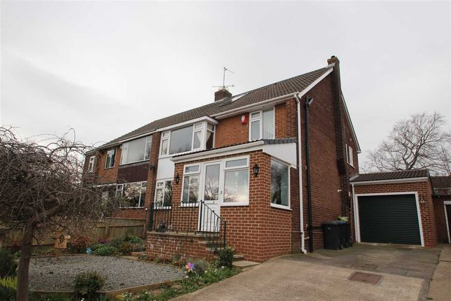 Thumbnail Semi-detached house for sale in Hermitage Park, Chester-Le-Street, County Durham