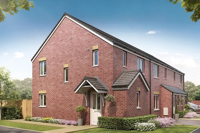 "Thumbnail Semi-detached house for sale in ""The Barton Corner "" at Sunniside, Houghton Le Spring"