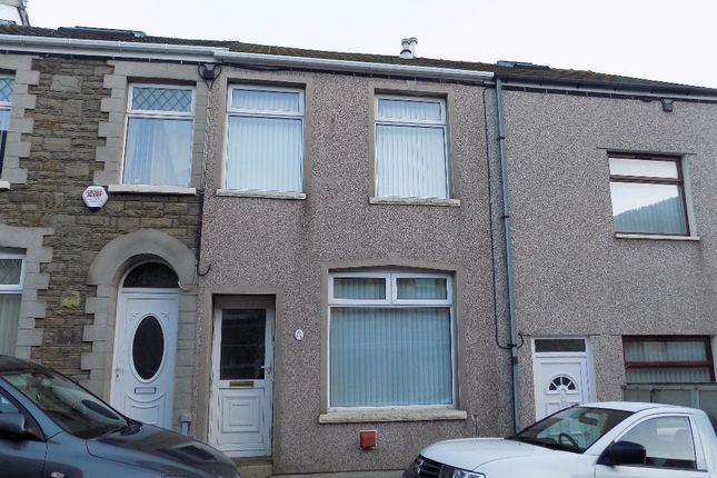 Thumbnail Terraced house for sale in Argyle Street, Abertillery