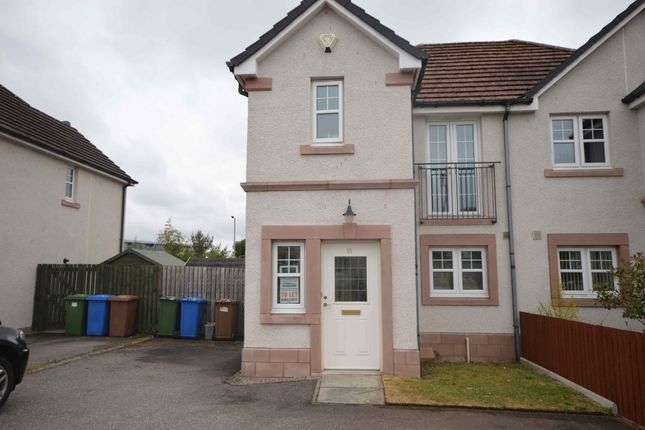 Thumbnail Semi-detached house to rent in Woodgrove Drive, Inverness
