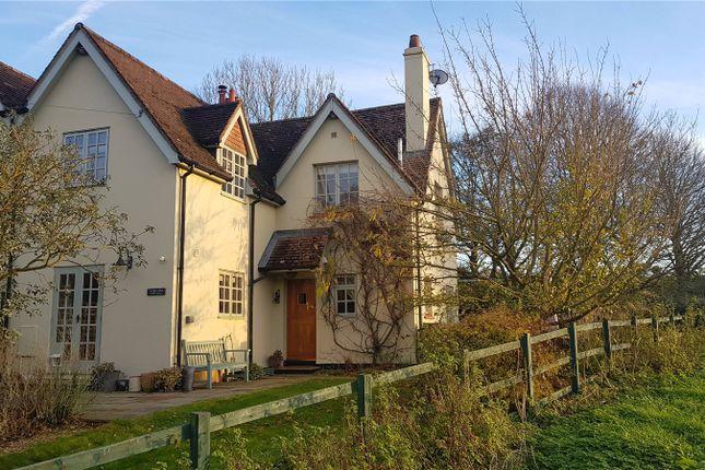 Thumbnail Semi-detached house for sale in Park Farm Cottage, Little Somborne, Stockbridge, Hampshire