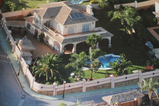 Aerial View of Bel-Air, Marbella, Málaga, Andalusia, Spain