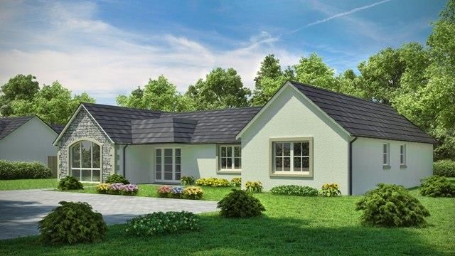 Thumbnail Detached bungalow for sale in Viewfield House, Brucefield Road, Blairgowrie