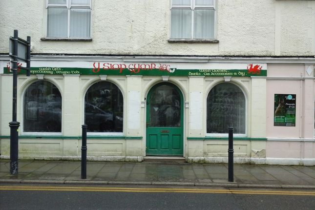 Thumbnail Retail premises to let in Church Street, Llangefni