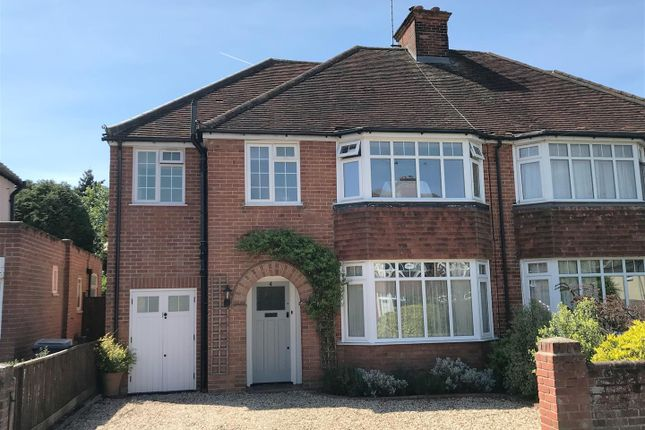 Thumbnail Semi-detached house for sale in Rectory Close, Newbury