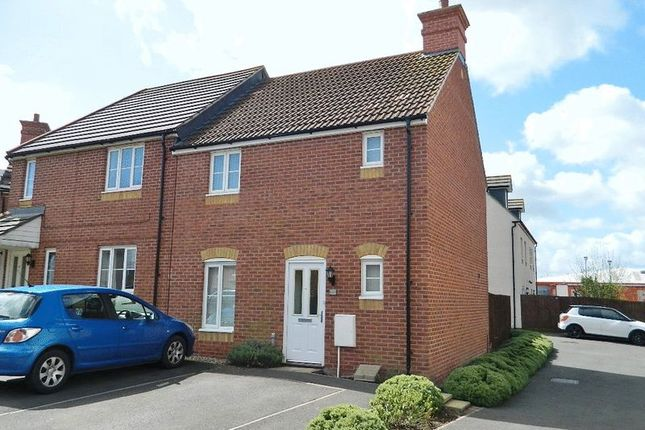 Thumbnail Terraced house to rent in Wyatt Way, Chard