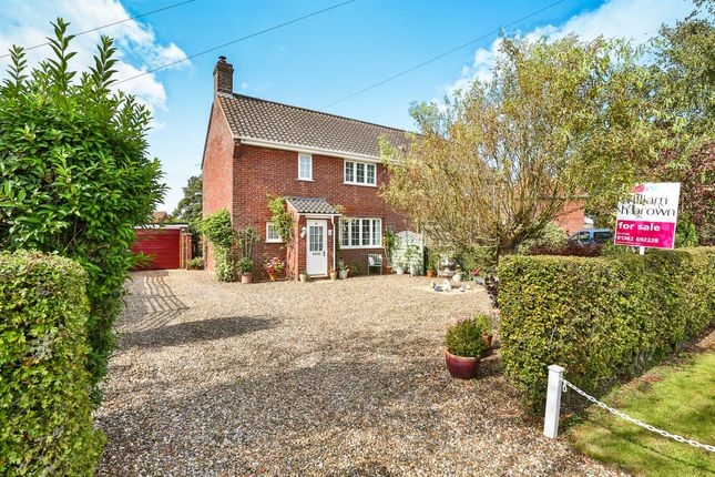 Thumbnail Semi-detached house for sale in The Grove, Barnham Broom, Norwich