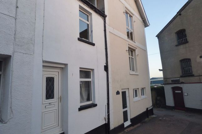 Thumbnail Cottage for sale in Willow Street, Teignmouth