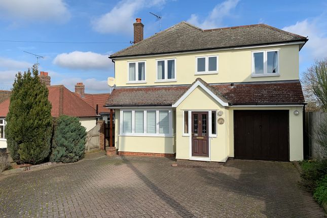 Thumbnail Detached house for sale in Private Road, Galleywood, Chelmsford
