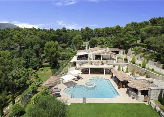 5 bed detached house for sale in St Paul De Vence, France