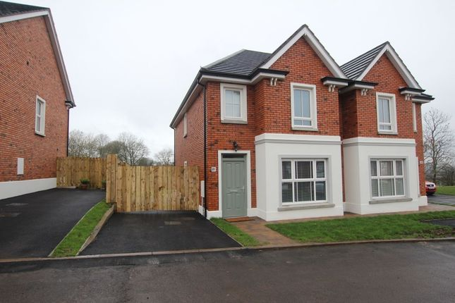 Thumbnail Semi-detached house for sale in Foxton Place, Newtownabbey