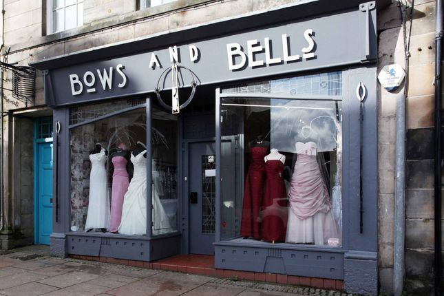 Thumbnail Commercial property for sale in 323 High Street, Kirkcaldy