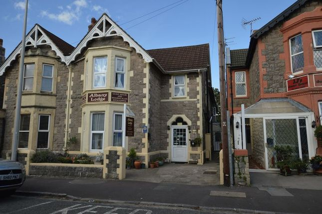 Thumbnail Semi-detached house for sale in Clevedon Road, Weston-Super-Mare