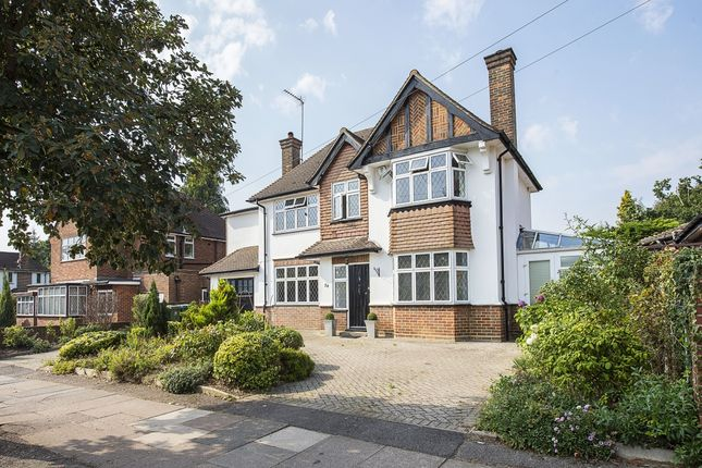 Thumbnail Detached house to rent in Langley Way, Watford