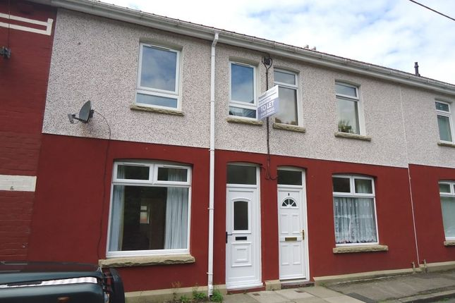Thumbnail Terraced house to rent in Griffin Street, Six Bells, Abertillery, Blaenau Gwent
