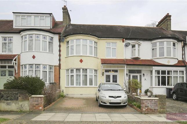 Thumbnail Terraced house for sale in Devonshire Gardens, Winchmore Hill, London
