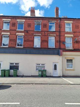 Thumbnail Flat to rent in King Street, Wallasey