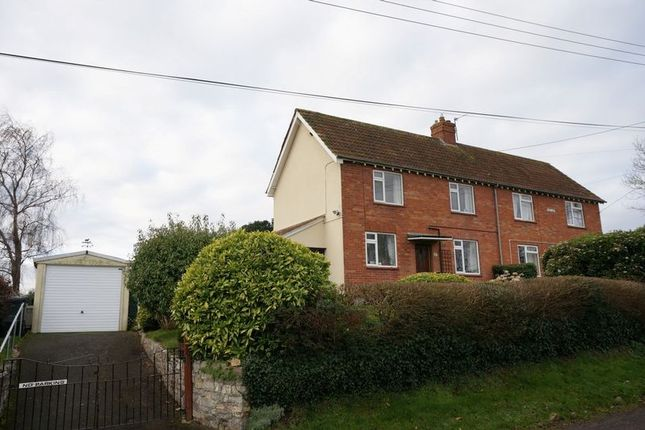 Thumbnail Semi-detached house for sale in Oxen Lane, North Curry, Taunton