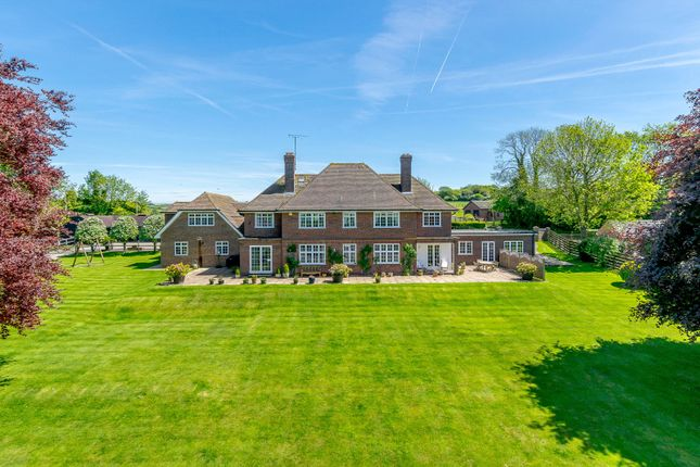 Thumbnail Detached house for sale in Downs Road, Compton, Newbury, Berkshire