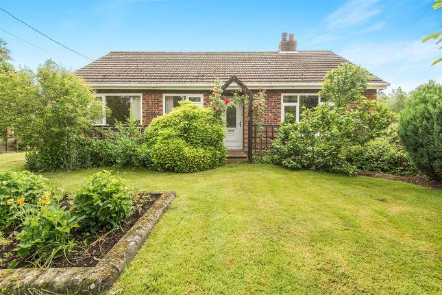 Thumbnail Detached bungalow for sale in Chapel Road, Foxley, Dereham