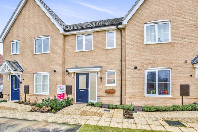 Thumbnail Terraced house for sale in Aspen Walk, Dereham