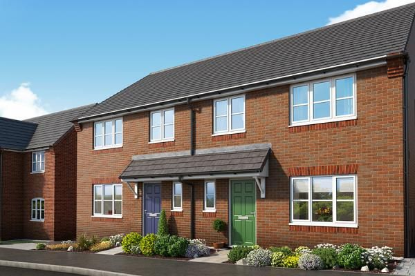 "Thumbnail Property for sale in ""The Alpine At Mill Farm, Tibshelf"" at Mansfield Road, Tibshelf, Alfreton"