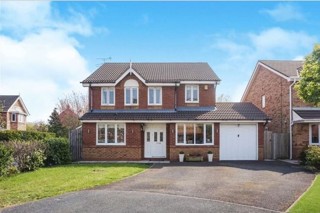 Thumbnail Detached house for sale in Cresswell Close, Halewood, Liverpool