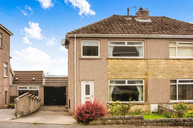 Thumbnail Semi-detached house for sale in Hillcrest, Brynna, Pontyclun