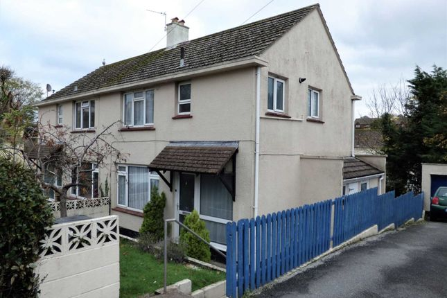 Thumbnail Semi-detached house for sale in Spencer Road, Paignton