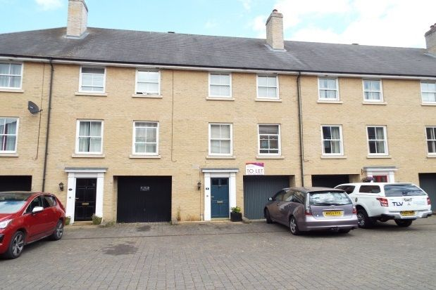 Thumbnail Town house to rent in Qwysson Avenue, Bury St. Edmunds