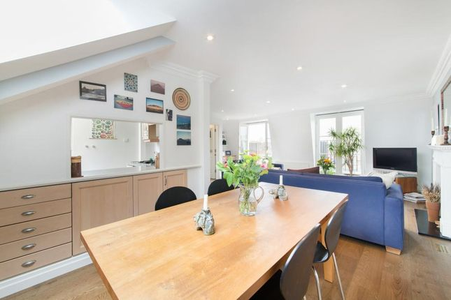 Dining Room of Bina Gardens, London SW5