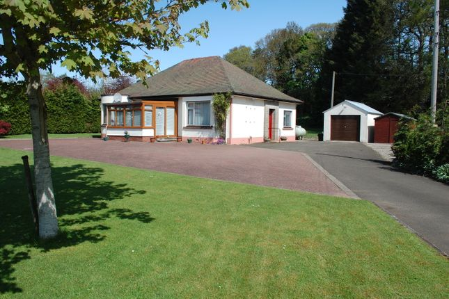 Thumbnail Detached bungalow for sale in Kirkmichael, Perthshire