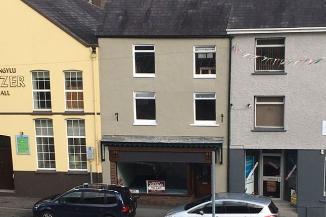 Thumbnail Commercial property for sale in Blue Street, Carmarthen