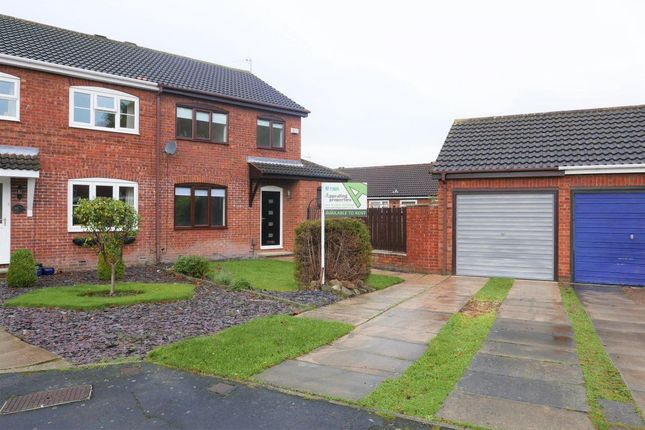 Thumbnail Semi-detached house to rent in Kinbrace Drive, York, North Yorkshire