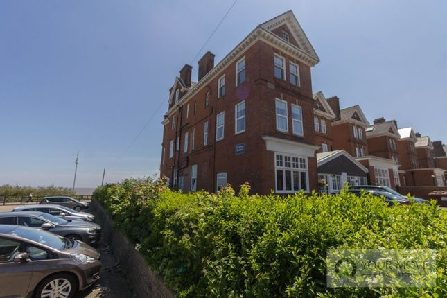 Thumbnail Flat for sale in Kirkley Cliff Road, Lowestoft