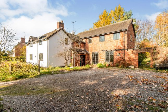 4 bed detached house for sale in Birch Cross, Marchington, Uttoxeter ST14
