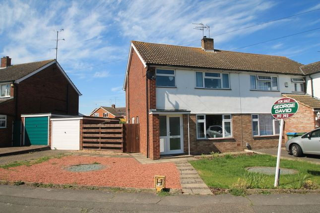Thumbnail Semi-detached house for sale in Welbeck Avenue, Aylesbury